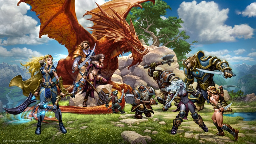 image credit SOE/Daybreak Game Company everquestnext.com